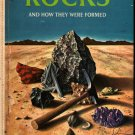 Rocks - How They Were Formed Golden Library - Herbert Zim - Harry McNaught (1961) Vintage Kids Book