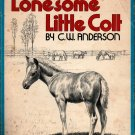 Lonesome Little Colt - C. W. Anderson - 1961 - Vintage Kids Book