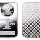 1 oz. 999 Fine Silver Bar - Walking Liberty Design