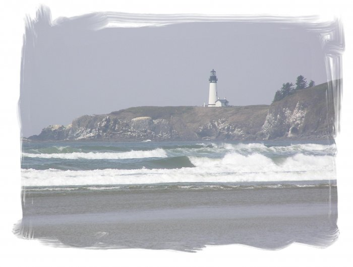 Agate Beach Lighthouse