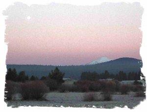 Sunset in Sunriver