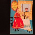 "Vintage Uncut Paper Dolls  ""Little Women""  Published by Artcraft Five Dolls"