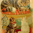Father Tuck's Cats and Kittens  Nursery Tales Series #5070 Very Good Condition