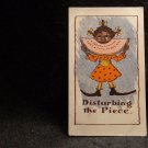 "Vintage Black Americana Postcard ""Disturbing the Piece""  Lithograph US 1901-1907"