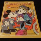 Uncut Walt Disney's Mickey & Minnie Steppin' Out Paper Dolls  Whitman Co.  1977