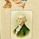 Vintage George Washington Birthday Postcard  Divided Back  Used Postmarked 1908