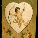Vintage  Valentine Postcard   Divided Back Postally Unused  Embossed  Design
