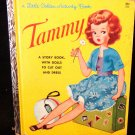 Tammy Little Golden Activity Book w/ Dolls to Cut Out  Uncut Paper Dolls 1963