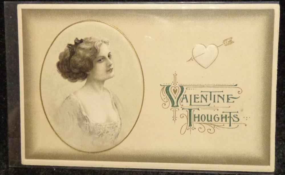 Vintage  Valentine Postcard   Divided Back Postally Unused  Embossed  1907-1915