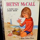 Betsy McCall Golden Activity Book w/ Dolls to Cut Out  Uncut Paper Dolls 1965