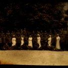 World War I Real People Postcard German Nurses and Soldiers Unused Divided Back