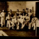 World War I Military Real People Postcard German Doctors, Nurses Unused