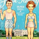 First Family Paper Doll & Cut-Out Book Ronald & Nancy Reagan UNCUT 1981 Dell Co.
