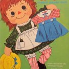 1970 Whitman Raggedy Ann Magic Press-Out Paper Dolls 50+ pieces Used Uncut