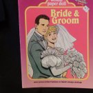 Modern Uncut Paper Dolls Bride & Groom  Pub. Western Pub. Co. 1990 ALMOST MINT