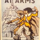 1930 Comrades at Arms by Paul Feval Cyrano D'Artagnan First Edition Book. w/ DJ