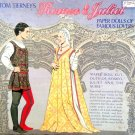 Romeo & Juliet Paper Dolls of Famous Lovers Tom Tierney 1995  Uncut Die Cut