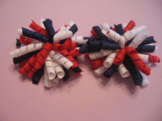 M2M Gymbo Star Spangled Korker Bows