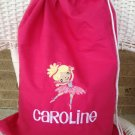 Personalized Ballerina Ballet Bag,Cinch Tote