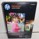 Premium photo paper by HP/compatible with all inkjet printers/4 X 6