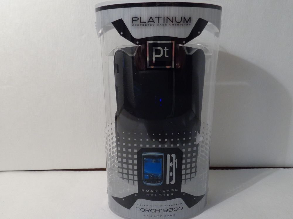 Smartcase and holster for the blackberry torch 9800 by platinum