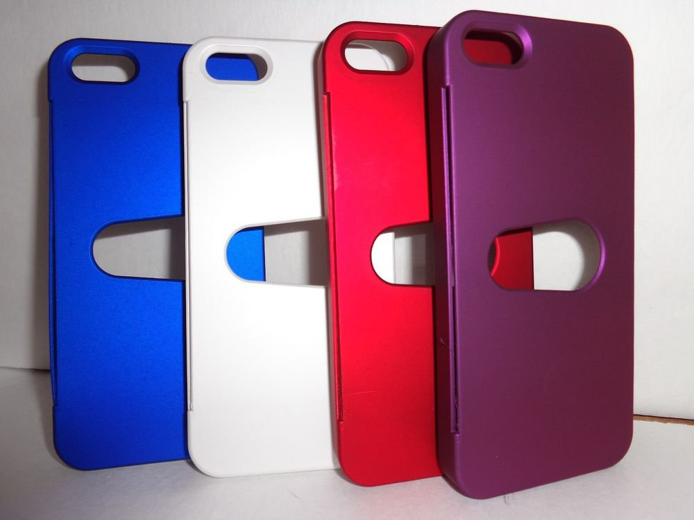 iPhone 5 card holder case/Free shipping/multiple colors/brand new