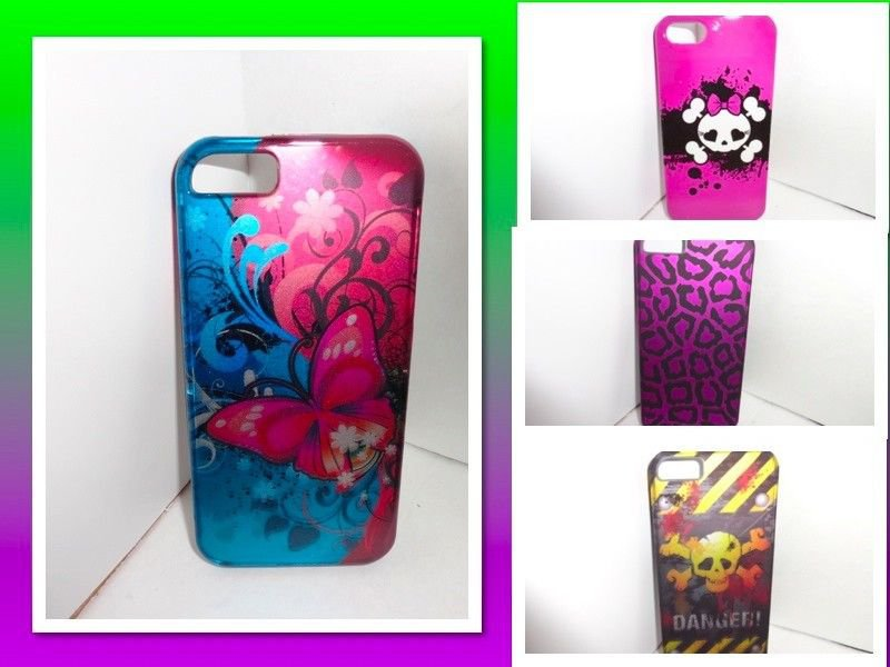 IPHONE 5 CASE/SPECIALTY DESIGN CASES/MULTIPLE VARIATIONS/MANY COLORS/SHIPS FREE