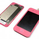 CDMA Verizon Sprint iphone 4 lcd screen touch digitizer back cover housing pink