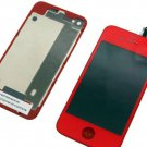 CDMA Verizon Sprint iphone 4 lcd screen touch digitizer back cover housing red