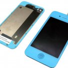 iphone 4 Compatible lcd screen touch digitizer + back cover housing blue kit USA