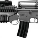 m4a1  m16 rifle AEG well full semi auto