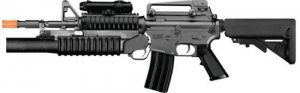 m4a1  m16 rifle AEG well full semi auto