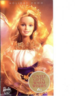 Holiday 2000 Barbie Collectibles Doll Catalog (35 Pgs)w/Liz Taylor Doll Pictured