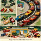 Toy Print Ad~Corgi,Matchbox,Tonka,Mighty Mo,Ertl,Construction,IH loader &Backhoe