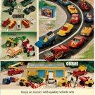 Toy Print Ad~Corgi,Matchbox,Tonka,Mighty Mo,Ertl,Construction,IH loader &Backhoe