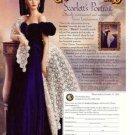 The Franklin Mint SCARLETT Portrait GWTW Doll Ad Page