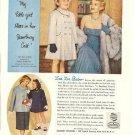 50s Zsa Zsa Gabor & Daughter Francesca Bambury Coats Ad