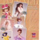 Tonner Engelbreit Ann Estelle,Betsy McCall etc Dolls Ad