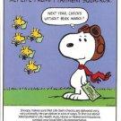 80s Met/Metropolitan Life Insurance Woodstock/Snoopy Ad