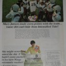 TIDE Soap Green Norge Ad~Mary Jansen,Football Team'67