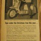 50s Harley Davidson Motorcycle Ad~Edd Kookie Byrnes '59