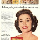 50s CoStar Cyd Charisse Meet Me in Las Vegas NV Lux Ad