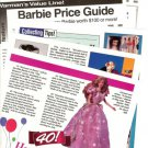 1999 Articles/Pics/Price Guide/Info on Mattel's Barbie Dolls~Barbie Turns 40