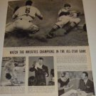 Stan Musial~Wheaties Champion/Magician Signs Autograph for Mona Freeman Article