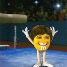 M&M'S/M&Ms Chocolate Candy Ad~Smiling Mary Lou Retton