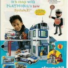 1998 Playmobil Police Headquarters System X Ad/Advertisement~~Great Go-Along!!!