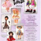 2004 Tiny Terri Lee CA & NY Travel Etc Dolls Ad Page