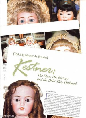 2005 Article/Info~KESTNER:The Man,His Factory&Antique German Dolls They Produced