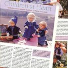 2000 Vintage Article/Pics/Information by Mary Graff on KATHE KRUSE Cloth Dolls