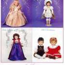 Susan Wakeen Snow White,Cinderella,1992 Christmas Etc Dolls Ad/Advertisement